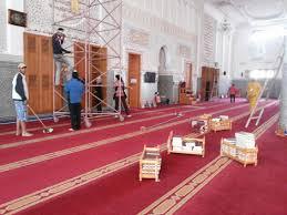 نظافة سجاد المسجد